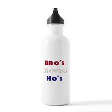 BROS BEFORE HOS Water Bottle