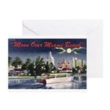 Miami Beach Greeting Cards (Pk of 20)