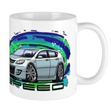 White Speed3 Small Mug