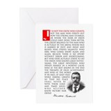 TEDDY ROOSEVELT Greeting Cards (Pk of 10)