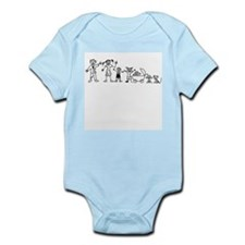 My Zombie Family Infant Bodysuit