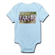 Three Little Pigs, Cute, Infant Bodysuit