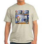 Disability Quote Ash Grey T-Shirt