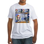 Disability Quote Fitted T-Shirt