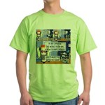 Disability Quote Green T-Shirt