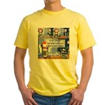 Disability Quote Yellow T-Shirt