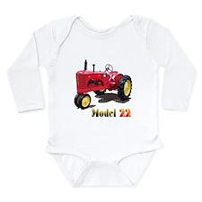 The Model 22 Long Sleeve Infant Bodysuit