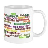 Shakespeare Plays Coffee Mug