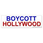 Boycott Hollywood<br>Bumper Sticker