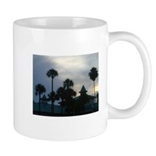 Palm Trees at Dusk Mug