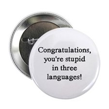 "3 Languages 2.25"" Button"