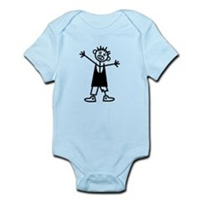Zombie Boy Infant Bodysuit