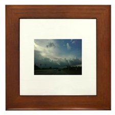 The Heavens Framed Tile
