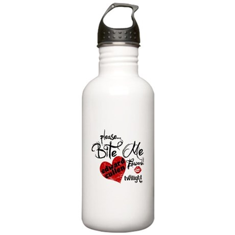 Bite Me Edward Cullen Stainless Water Bottle 1.0L