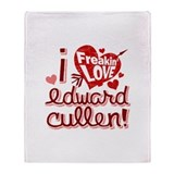 Freakin LOVE Edward Cullen Throw Blanket