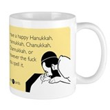 Happy Hanukkah Small Mug