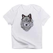 Stylized Grey Wolf Infant T-Shirt
