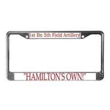 1st Bn 5th FA License Plate Frame