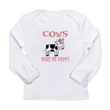 Cows Long Sleeve Infant T-Shirt