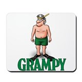 Snorkle Grampy Mousepad