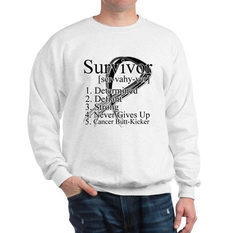 Skin Cancer Survivor Sweatshirt