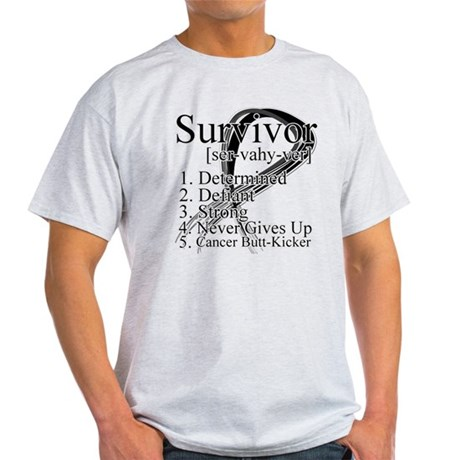 Skin Cancer Survivor Light T-Shirt