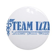 Team Izzie SGH Ornament (Round)