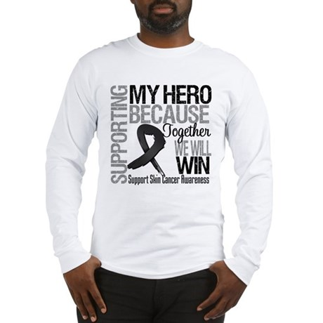 Supporting My Hero Long Sleeve T-Shirt