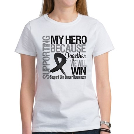 Supporting My Hero Women's T-Shirt