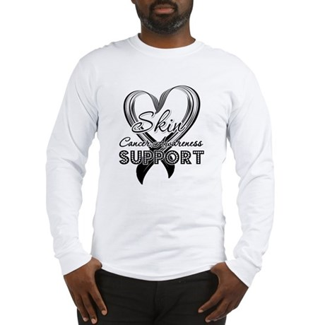 Skin Cancer Support Long Sleeve T-Shirt