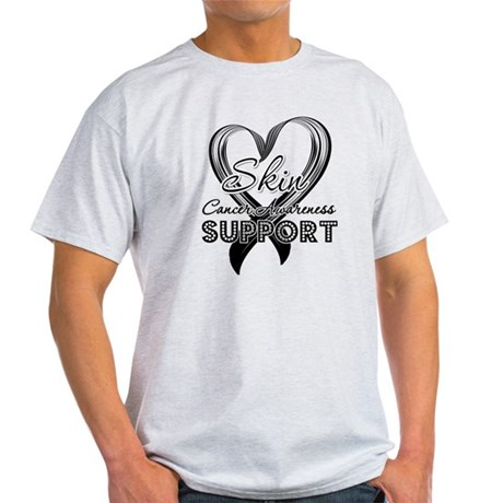 Skin Cancer Support Light T-Shirt