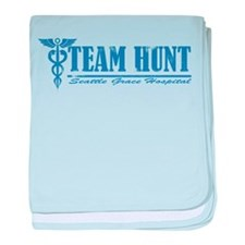 Team Hunt SGH baby blanket