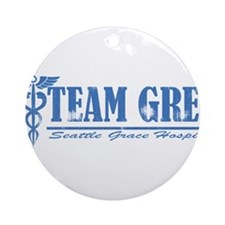 Team Grey SGH Ornament (Round)