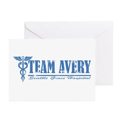 Team Avery SGH Greeting Cards (Pk of 10)