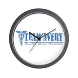 Team Avery SGH Wall Clock