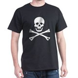 Pirate Flag Black T-Shirt