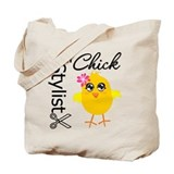 Hair Stylist Chick Tote Bag