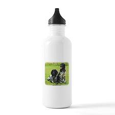 Large Munsterlander 9W020D-139 Sports Water Bottle