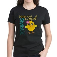 Hair Stylist Chick v2 Tee