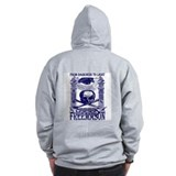 Zip Hoodie (Revese G, square and compass)