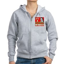 It's a Festivus Miracle! Zip Hoodie