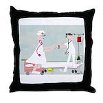 Student Nurse XXX Throw Pillow
