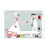Student Nurse XXX Postcards (Package of 8)