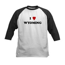 I Love Wyoming Tee