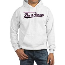 She is Fierce - Swash Hoodie