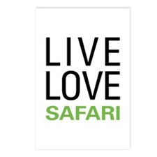 Live Love Safari Postcards (Package of 8)