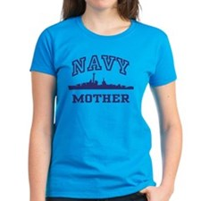 Navy Mother Tee