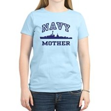 Navy Mother T-Shirt
