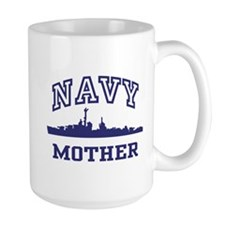 Navy Mother Coffee Mug
