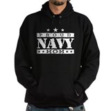 Proud Navy Mom Hoodie